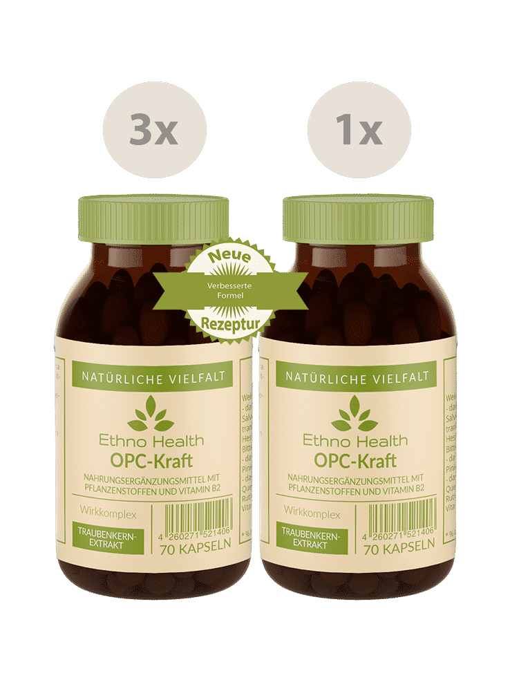 OPC Kraft Kur von Ethno Health bei GorillaGreen